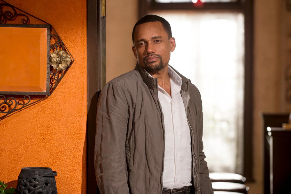 ". \""Vamos\"" Episode 401 -- Pictured: Hill Harper as Calder Michaels -- (Photo by: Christos Kalohoridis/USA Network)"