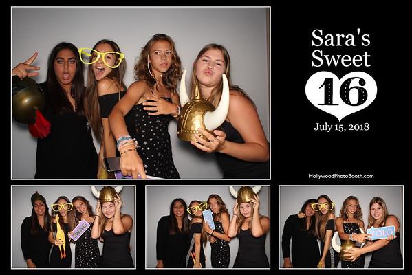 Sara's Sweet 16