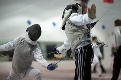 Prince William Fencing Academy - March 2009