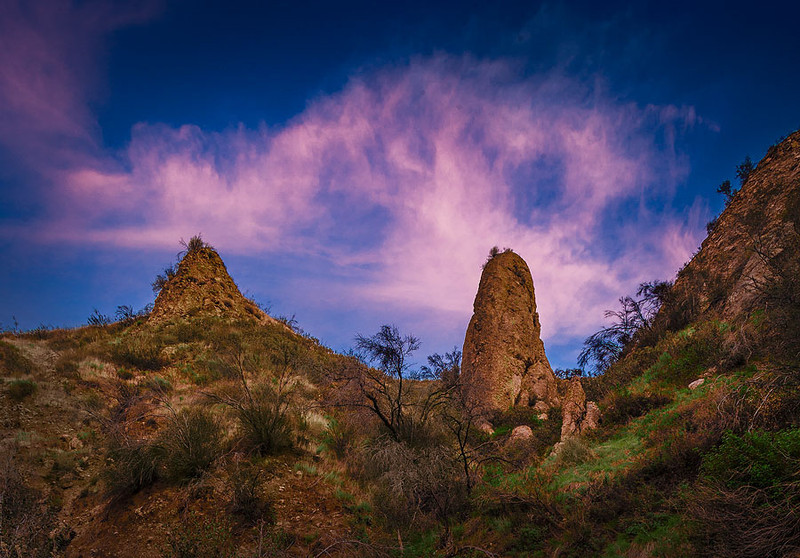 Los Cantiles Saugus Spires of Conglomerate
