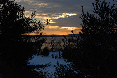 Sunset - January 06, 2008 - Oakfield.