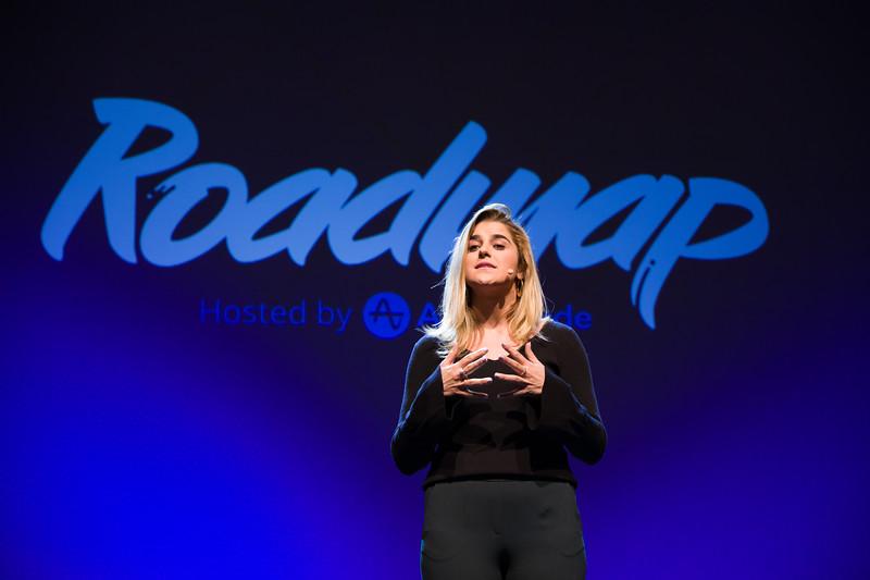 RoadMap SF Amplitude @Amplitude_HQ #roadmap Anastasia Fullerton @AFullerton33 Show Sponsors @womenpm @Optimizely & @segment