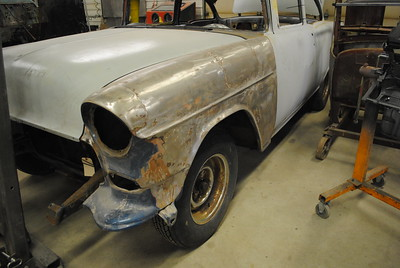 '55 Chevrolet Post