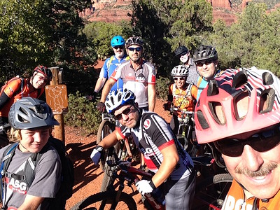 2016 10-13 Sedona MTB trip