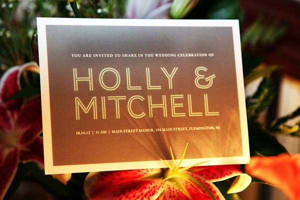 HOLLY AND MITCHELL'S WEDDING - OCT 14, 2012