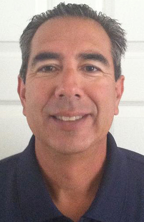 . Jaime Sandoval has been named Coach of the Year to the All-Area track team for the Inland Valley Daily Bulletin. Sandoval coaches track at Colony High School. Courtesy photo to the Bulletin.