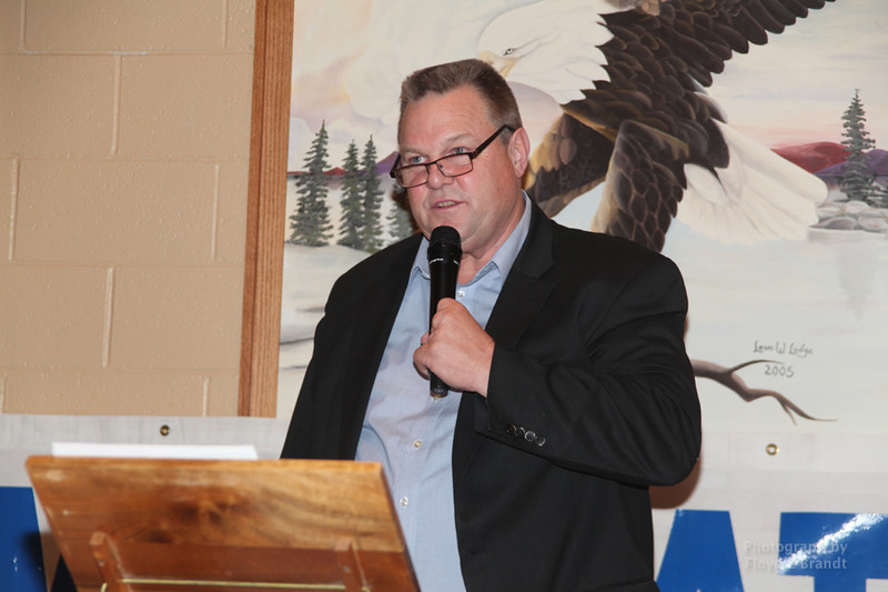 Havre Daily News/Floyd Brandt  Democrats held a fundraiser at the Eagles Club to raise funds for candidates in the upcoming 2018 election which Senator Jon Tester is up for re-election Saturday Oct 21, 2017 Havre, Montana