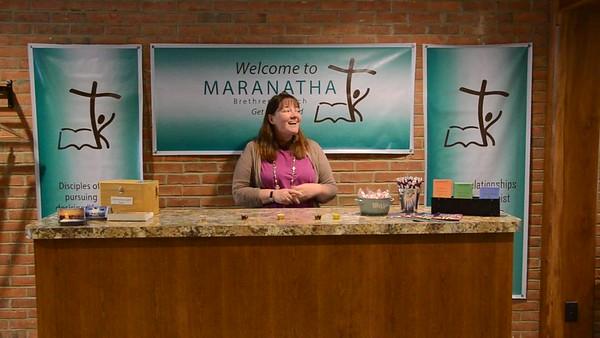 Maranatha Video Work