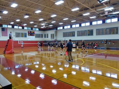 Girls' Volleyball: GA vs Baldwin