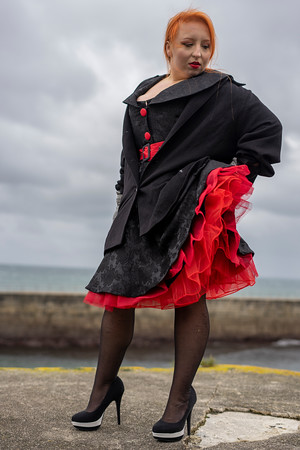 Abigail's Pin -up  at Porthleven