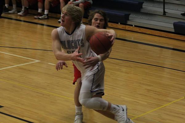 West Lyon boys' basketball vs. West Sioux Class 2A District 2 boys' basketball tournaments 2-12-18