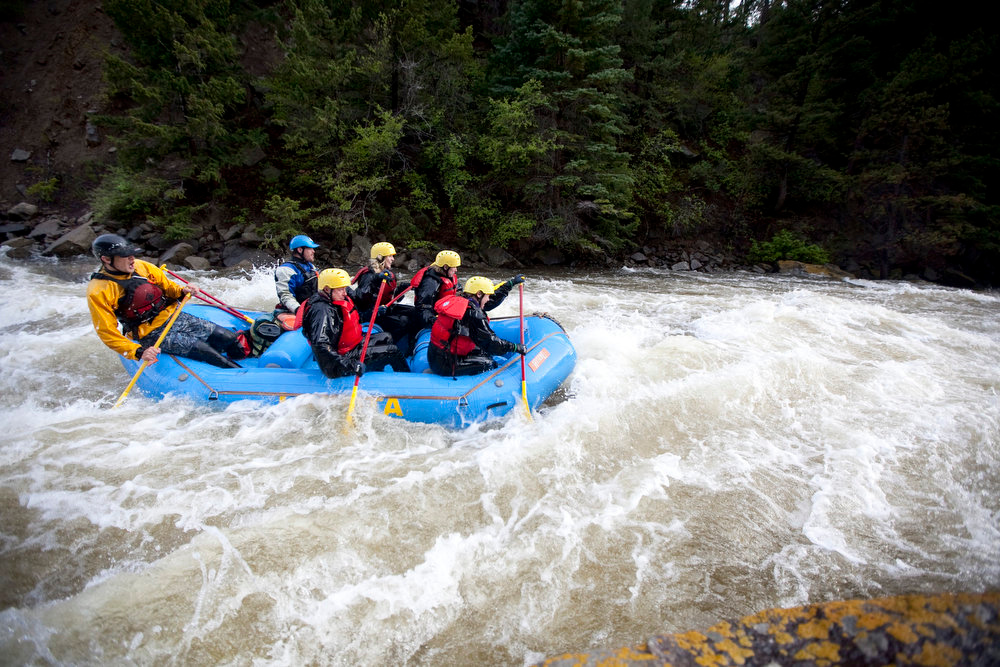 . The Eagle River is one of the few free-flowing rivers in the state, and offers a moderate run in the Lower portion with just enough rapids to keep it exciting.  (Provided by Colorado River Outfitters Association)