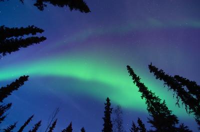 Watching the aurora at home and at Smith Lake | 2014-09-26