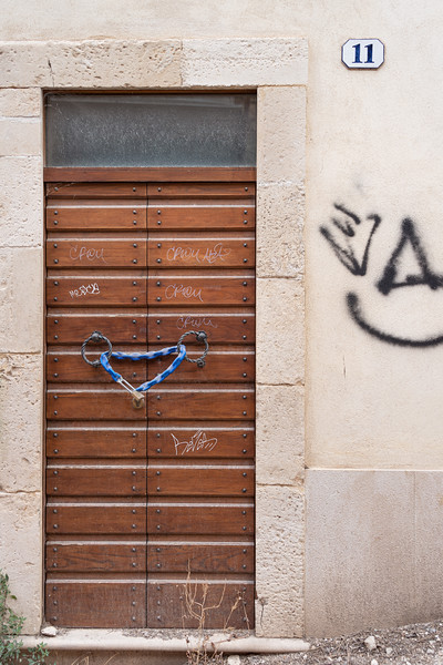 Urban Still Life - L'Aquila, Italy - August 14, 2019