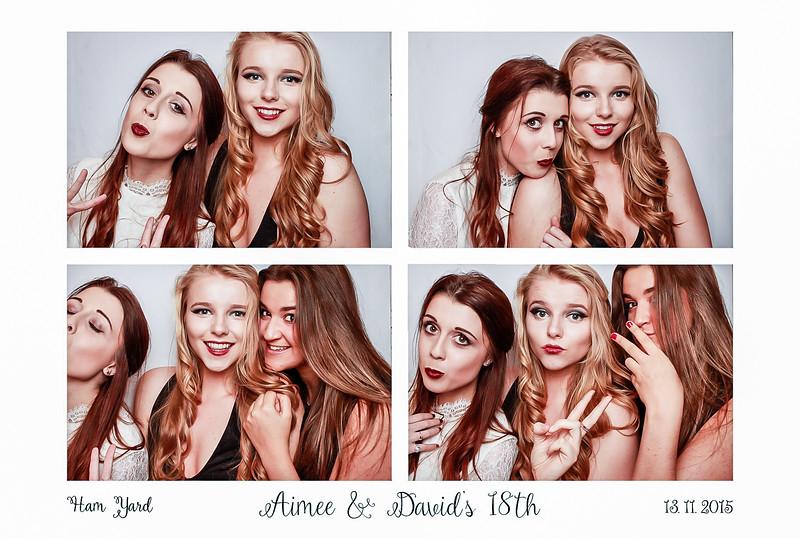 Aimee and Davids 18th