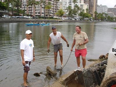 2006 Ala Wai Cleanup 2-22-2006