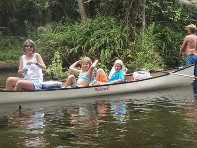 Junior Canoe Trip 08/22/2008