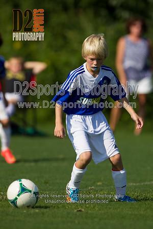 04 TWINS WHITE vs U10 TWINS ACADEMY- U10 Boys 8/15/2014