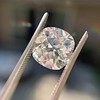 2.24ct Antique Cushion Cut Diamond, GIA M VS2 14