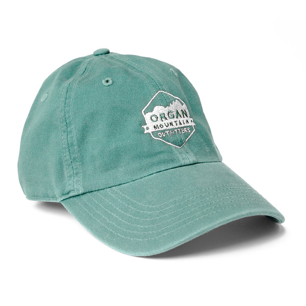 Outdoor Apparel - Organ Mountain Outfitters - Hat - Dad Cap Classic Logo - Sage.jpg