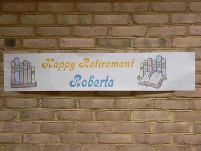 Roberta's Retirement Party - August 2007