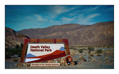 Death Valley National Park - USA - Over The Years.