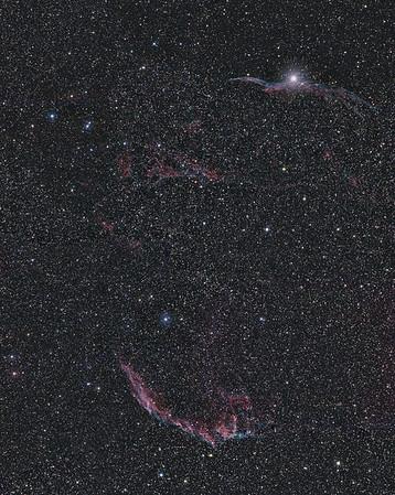NGC-6960 NGC-6992