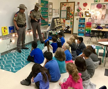 DPS Troopers visit classroom