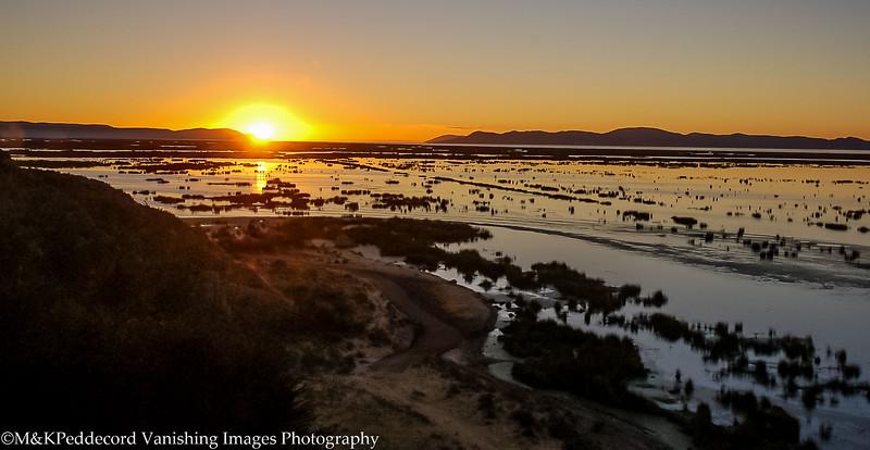 Sunset, Lake Titicaca