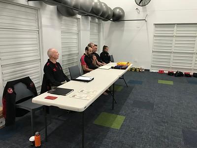 Combat Self Defence Grade Belt Assessments June 2018