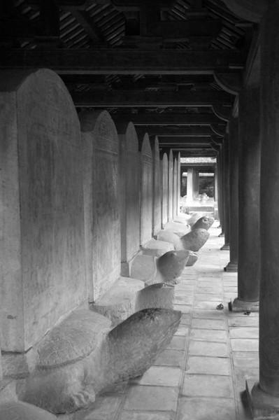 Turtle Steles - Temple of Literature