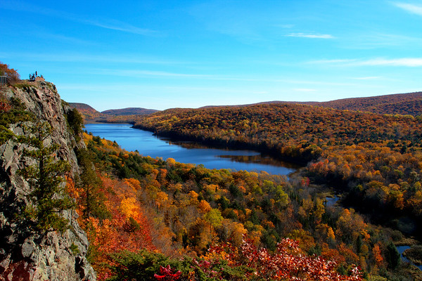 The Porcupine Mountains