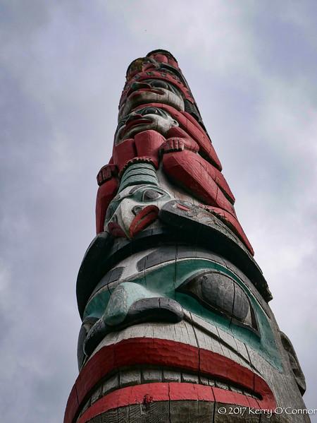 Totem Pole Haines Harbor