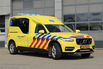 Volvo XC90 ambulance