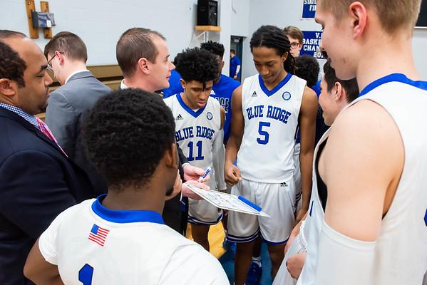 Blue Ridge basketball versus Eastern Mennonite 2020