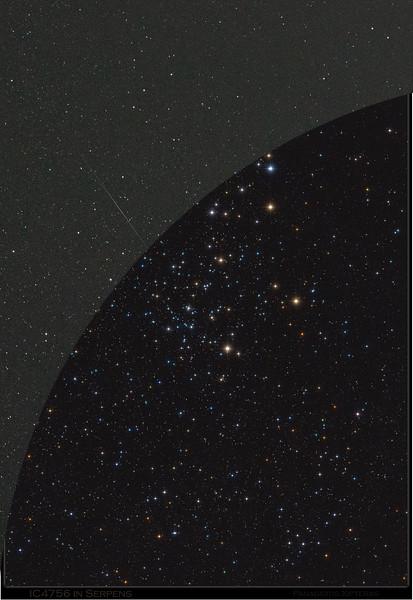 Single 30s sub vs. final image (6x30s)