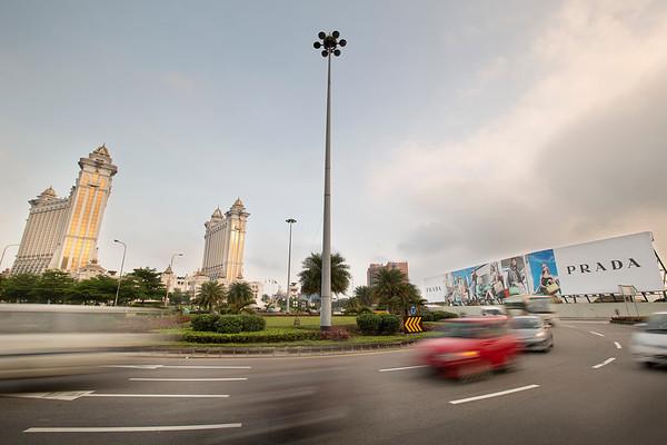 Ec-ad Prada Billboard in Macau