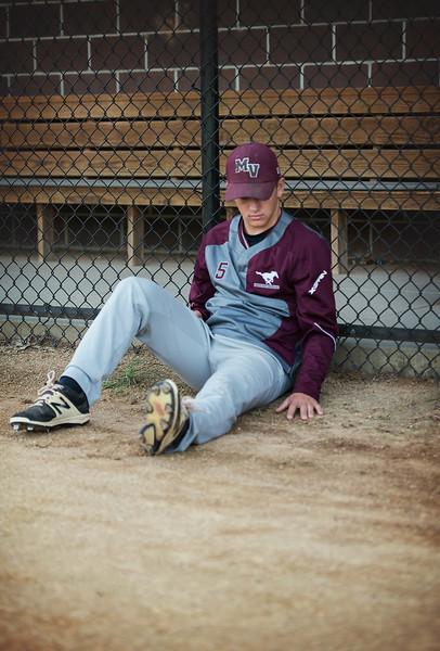Senior guy - sports session - baseball - Mount Vernion Iowa  High School - marion iowa - TruYou Photography - 3.jpg
