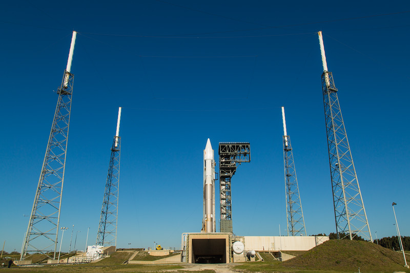 AtlasV OA-6 on the pad