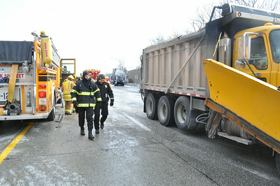 01/08/2014 - I-78 Tractor Trailer Accident w/ Fire