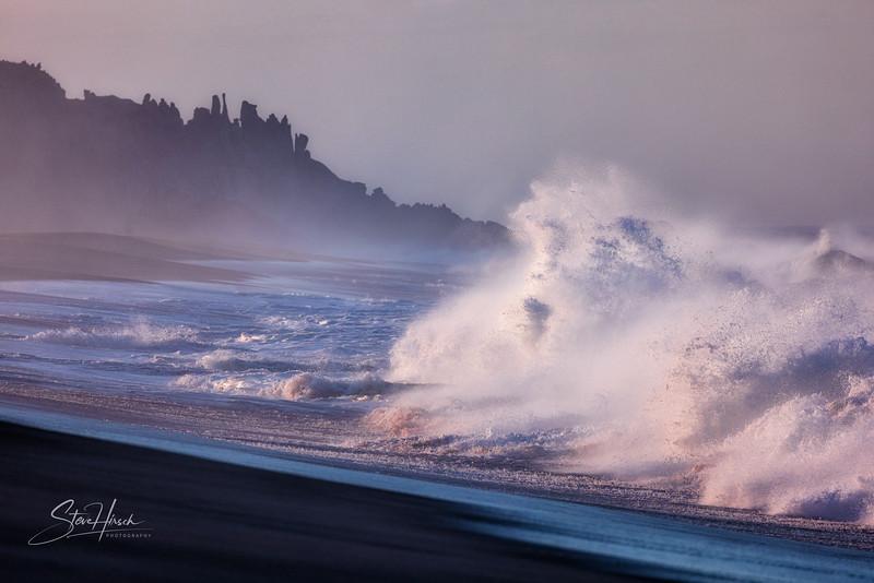 Troy beach waves