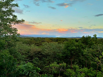 Guanacaste Non-beach Sunrises, Sunsets & Vistas