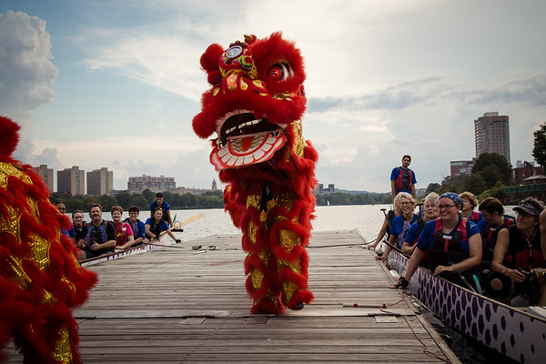 Boston-Lion Dances