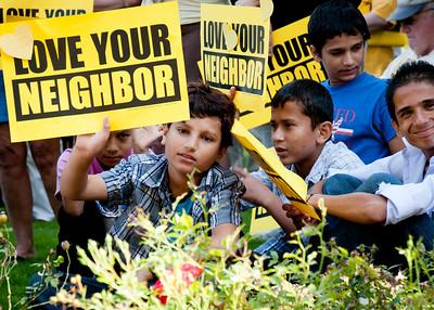 Love Your Neighbor Rally