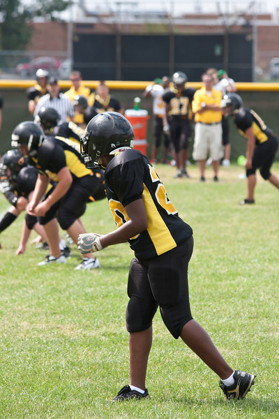 2010 Joliet West Freshmen Football Scrimmage