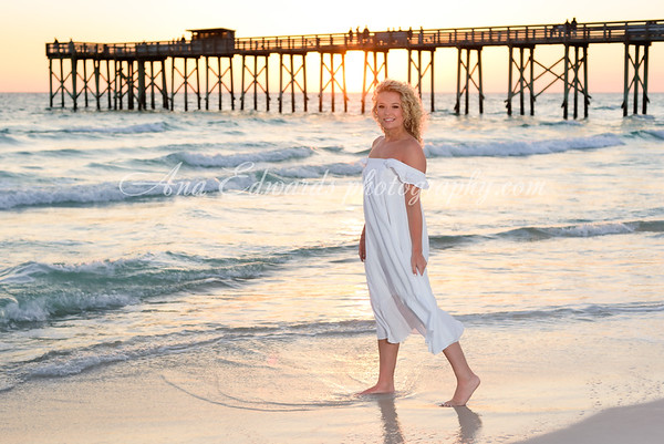 Carrie. 2021 Model High school Senior  |  Panama City Beach