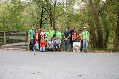 9. 28.13 River Cleanup & Tree Maintenance in Orange Grove in Patapsco State Park
