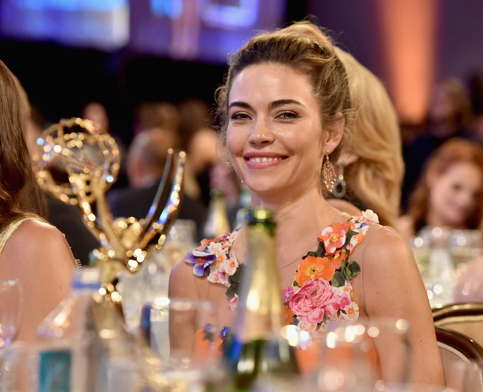 . Actress Amelia Heinle, winner of Outstanding Supporting Actress in a Drama Series for \'The Young and the Restless,\' attends The 41st Annual Daytime Emmy Awards at The Beverly Hilton Hotel on June 22, 2014 in Beverly Hills, California.  (Photo by Alberto E. Rodriguez/Getty Images for NATAS)