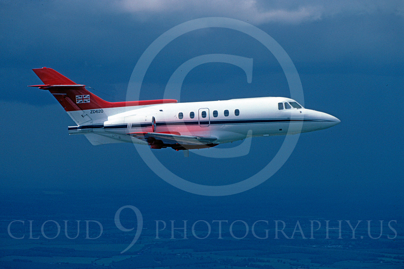 BAE 125 00002 British RAF ZD620 via African Aviation Slide Service .JPG