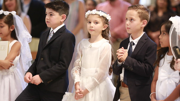 First Communion at SEAS 2018 May 5 at 5 pm